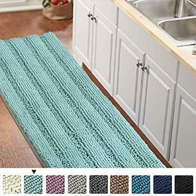 Details About Turquoize Bathroom Runner Rug Extra Long Chenille