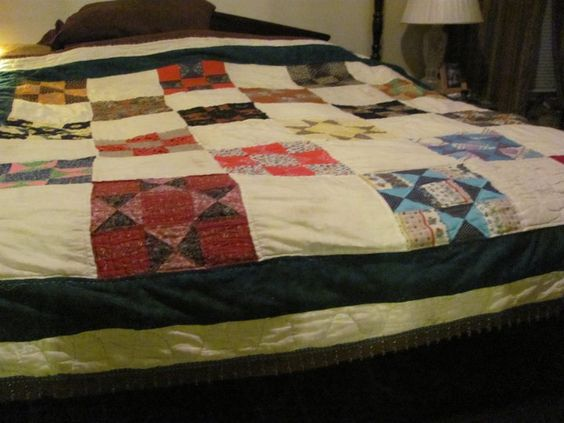 This quilt took 15 years