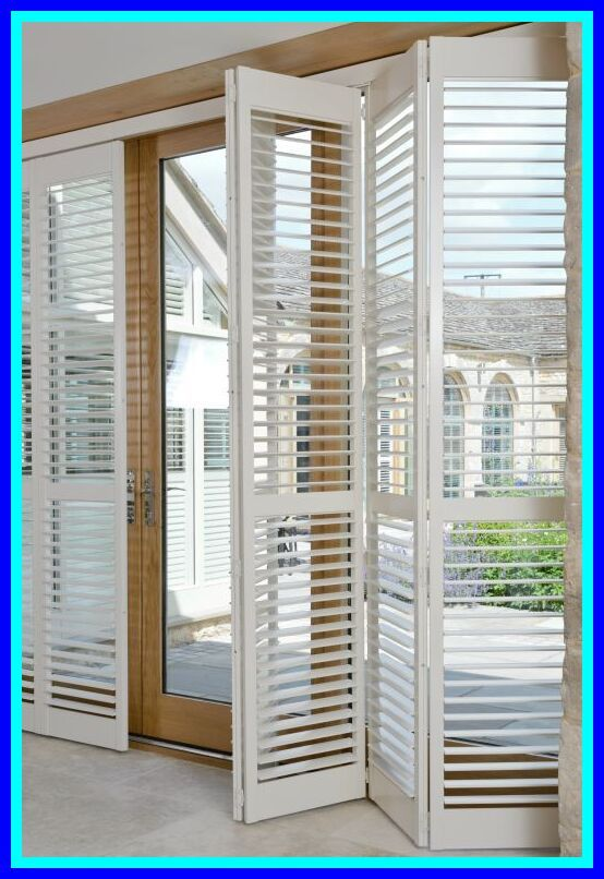 98 Reference Of Patio Door Shutters Uk In 2020 Patio Door Shutters French Door Coverings Folding Patio Doors