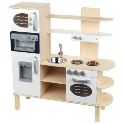 cuisine en bois grand mod le klein magasin de jouets pour enfants tout pour bb pinterest. Black Bedroom Furniture Sets. Home Design Ideas