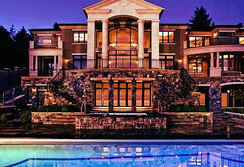 Rich Houses Rich Houses with high end landscaping Homes