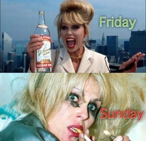 Friday/Sunday | More crap that...