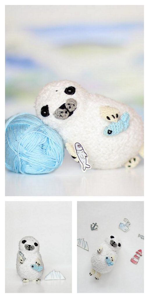 Ravelry: Bubbly the Baby Seal pattern by Maarja Härsing-Värk | 1024x512