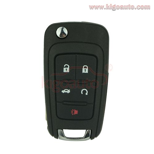 Oem Flip Key 5 Button 315mhz For Gm Remote Key Chevrolet Equinox