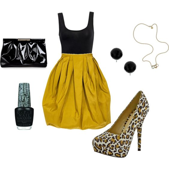 My first #Polyvore set I created :)
