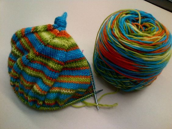 Ravelry: Shibanut's Top-Down No Math Hat - Cactus
