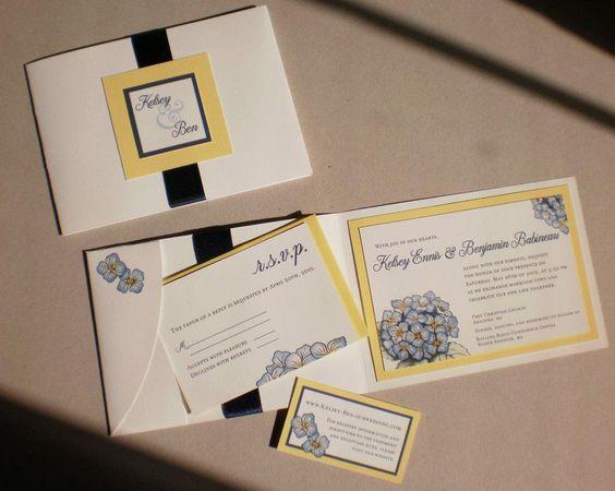 My beautiful invitations made by my wonderfully artistic friend =)