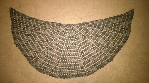 Crochet Pattern Half Circle Shawl : Pinterest The world s catalog of ideas
