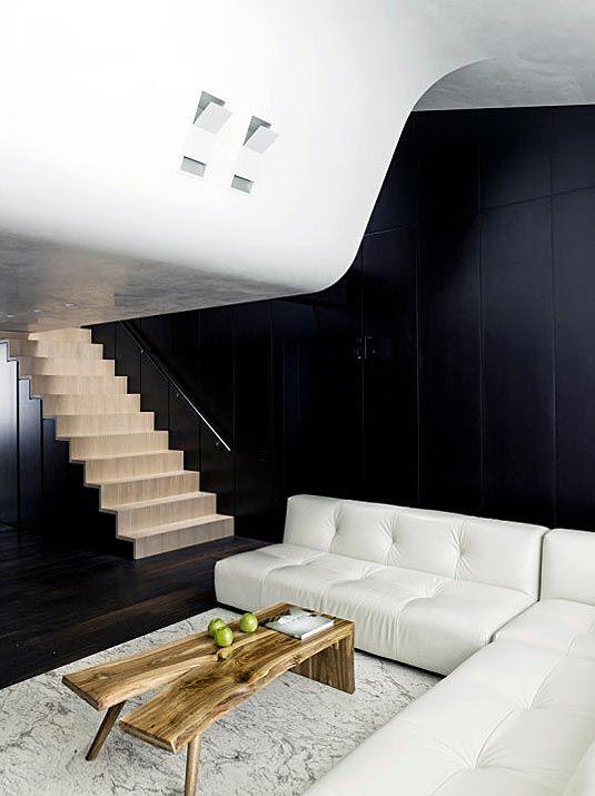 futuristic minimalist apartment interior design With Eco construction