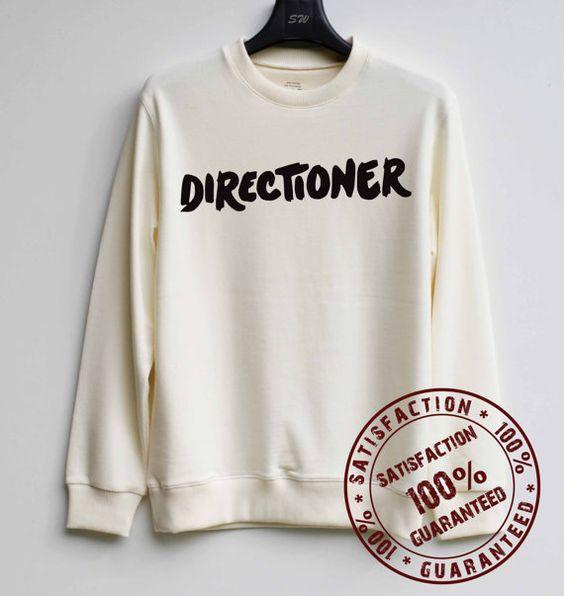 Directioner Shirt One Direction Sweatshirt by SweaterWeather2014