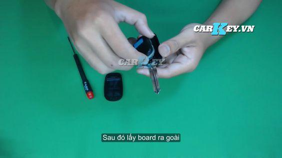 Hướng dẫn thóa vỏ chìa khóa ô tô Chevrolet - Carkey.vn