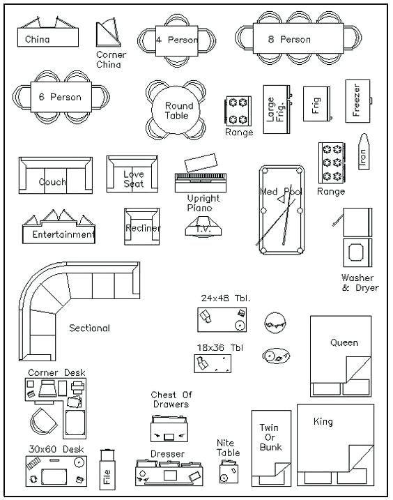 Graph Paper Room Planner Free Template Floor Plan Interior