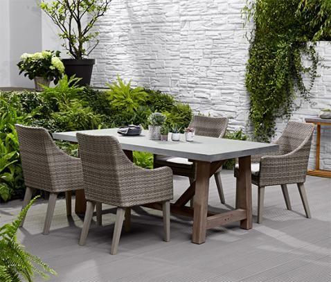 Gartentisch In Betonoptik 2 M Online Bestellen Bei Tchibo 366159