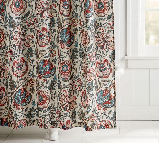 haylie organic shower curtain in 2021