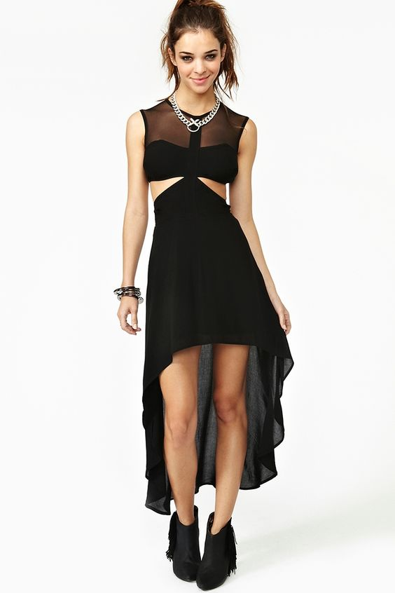 Ivana Cutout Dress - Black  $88