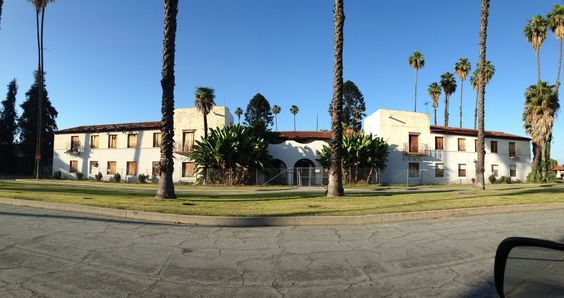 Abandoned Institutional Building, near Imperial and Old River School Road, Downey