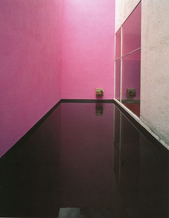 Galvez House, Mexico City, 1955-56, by Luis Barragan Photograph by Sebastian Saldivar