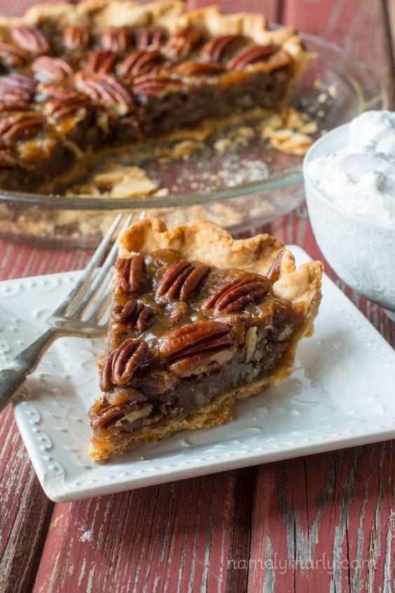 Vegan Pecan Pie is part of Vegan Pie Week on Namely Marly!