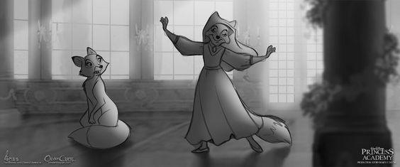 Vixey meets Maid Marian at the Disney Princess Academy. Posted on dailydot.com (image credit David Kawena) by Aja Romano.