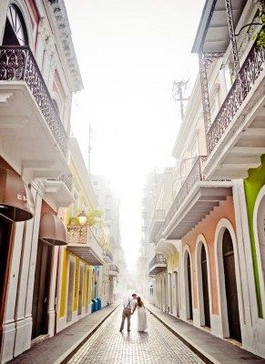 Old San Juan Puerto Rico Wedding {Rebekah J Murray}