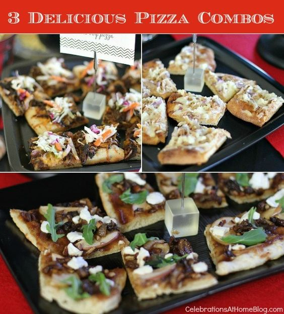 3 UNIQUE & DELICIOUS PIZZA COMBOS #pizza