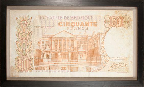 Banknotes Collection: Belgium