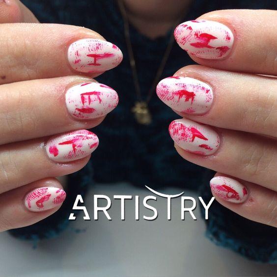 Nails by Wendy  #halloweennails #halloweentheme #halloween #halloweentime #nails #gelnails #gelnagels #halloweennagels #nailsbywendy #crimescene #crimenails #crimescenenails #handpainted #handpainting #nailart #nailfashion #nicenails #nailartists #nailtechs #thebest #thebestforthebest #nailaddicts #topteam #dreamteam #artistry #voorinfoenafspraken0489593568 #fransversmissenlaan21 #2100deurne #www.artistry-beauty.be