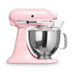 Küchenmaschine Artisan Susan Komen 4,8 l pink 6 tlg.