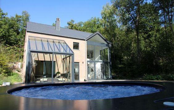 Luxe vakantiehuis Brunelles in de Belgische Ardennen