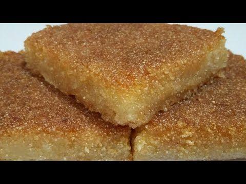 طريقة بسيطة جدا لبسبوسة الحلوانى بالدقيق السايب مش هتفرقها عن بسبوسة المحلات وتحدي Food Receipes Sweets Recipes Honey Dessert