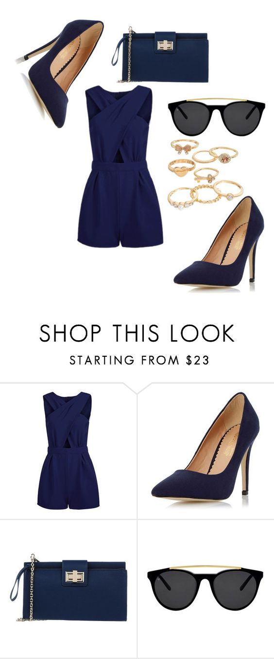 """Untitled #186"" by mela-burgic ❤ liked on Polyvore featuring Dorothy Perkins, Studio Pollini, Smoke & Mirrors and Mudd"