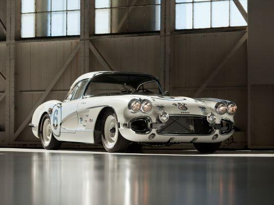 Chevrolet Corvette C1 Race Rat 1960 Corvette Race Car