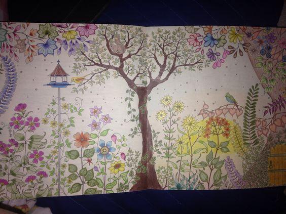 Mais uma arte minha do Jardim Secreto...