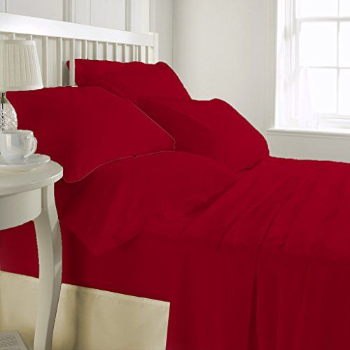 1000 Thread Count Luxurious 100 Egyptian Cotton Duvet Cover Red Twin Duvet Cover With Zipper Closure Red Duvet Cover Egyptian Cotton Duvet Cover Duvet Sets