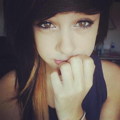 girl with brown hair and hazel eyes tumblr wwwimgkid