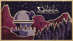 The Observatory  Motion Graphics, Design, Space, Telescope, planet, retro, poster, illustration, animation  jshipleydesign.com