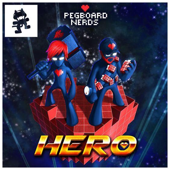 Pegboard Nerds, Elizaveta – Hero (single cover art)