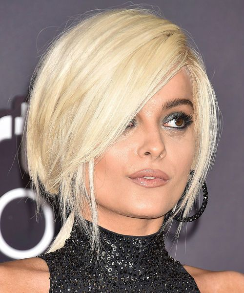 Romantic Short Platinum Blonde Bob Hairstyles 2019 To