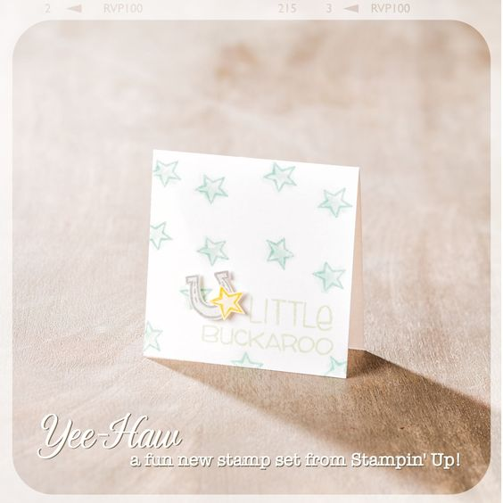Love this sweet little card, perfect for a baby gift.