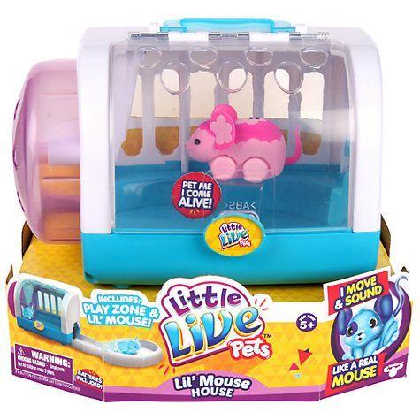 Buy Little Live Pets Lil Mouse House Online At Johnlewis Com In 2020 Little Live Pets Pet Mice Pets