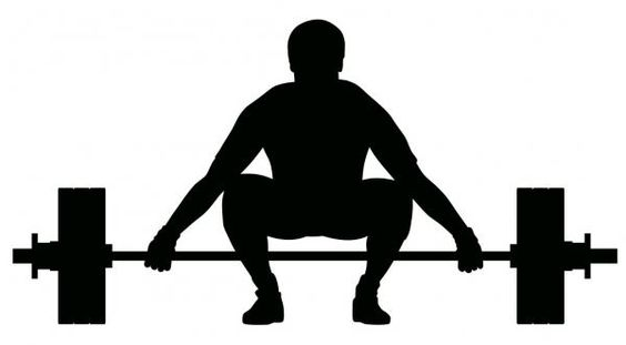 Image result for olympic lifting silhouette