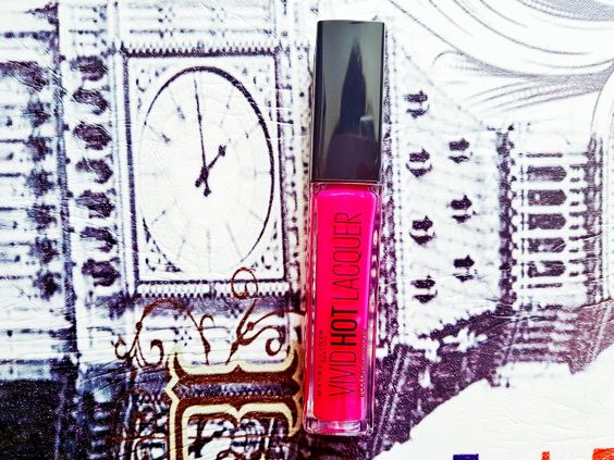 Maybelline Vivid Hot Lacquer Sassy Review