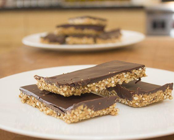 Chocolate-Quinoa bars