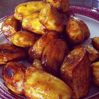 Easy deep fried banana recipe