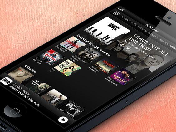 Music App Interface on Behance