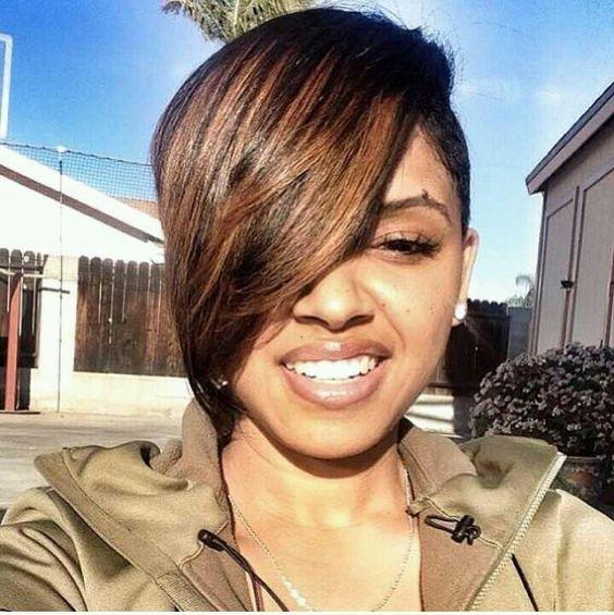 I wanna cut off my hair theni wanna get weave @ the same time?!