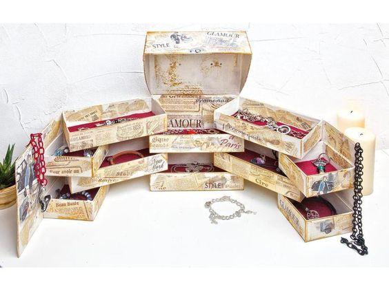 """Sortierkästen - & boxen - Organizer-Box """"Raumwunder"""" - ein Designerstück von vbs-hobby-versand bei DaWanda"""