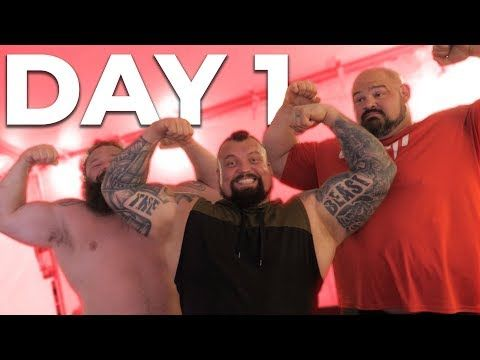 Day 1 World S Strongest Man Eddie Hall Robert Oberst Youtube