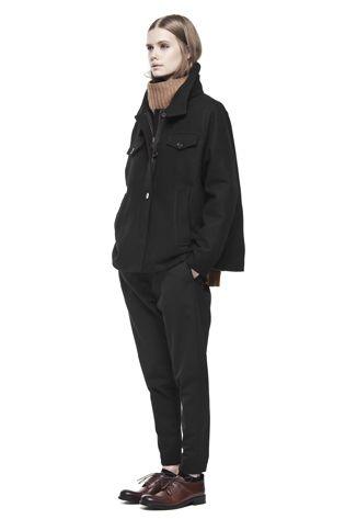 PEEK COAT / BLACK 2900 SEK
