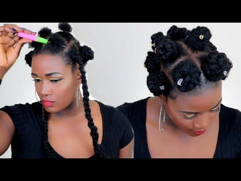 19+ Braided bantu buns with braids inspirations